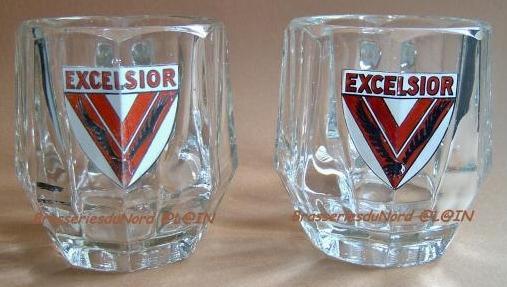 Excelsior 2 chopes émaillées